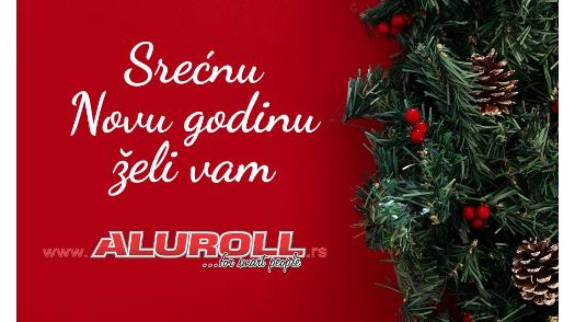 Aluroll Čestitka za novu godinu