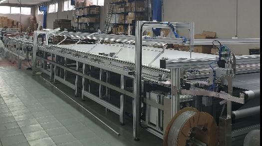 Aluroll Nova mašina u proizvodnom sektoru komarnika